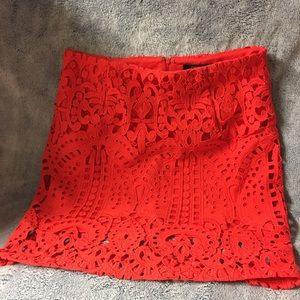 NWT Forever 21 Lace Mini Skirt